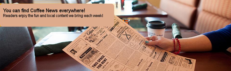 Coffee News Foothills of WNC Distribution