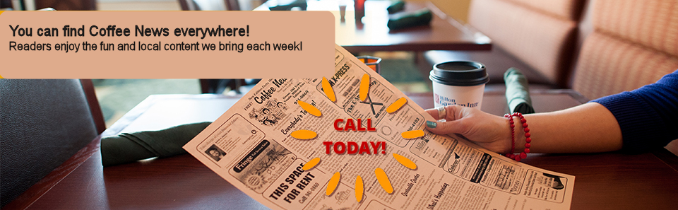 Advertise in Coffee News of the Foothills, North Carolina